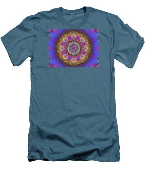 Aurora Graphic 026 Men's T-Shirt (Slim Fit) by Larry Capra