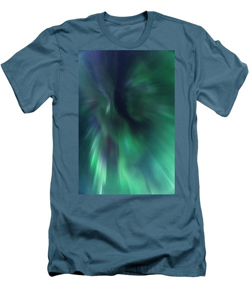 Aurora Kaleidoscope Men's T-Shirt (Athletic Fit)