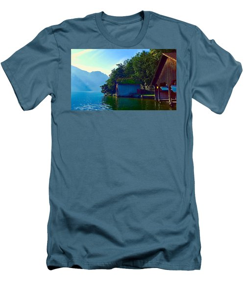 Austrian Alps Men's T-Shirt (Athletic Fit)