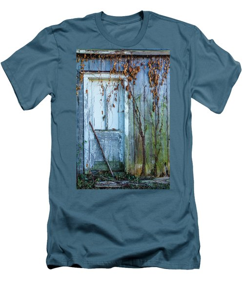 Autumn Door Men's T-Shirt (Athletic Fit)