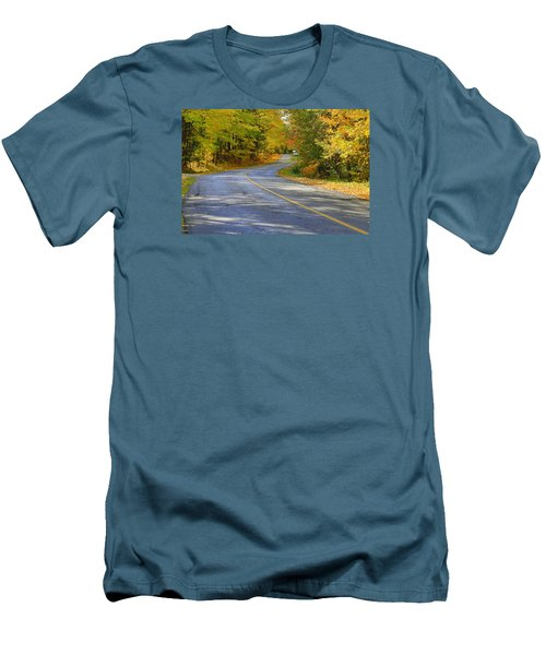 Men's T-Shirt (Slim Fit) featuring the photograph Autumn In The Caledon Hills 2 by Gary Hall