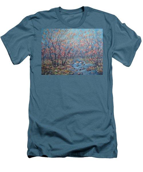 Autumn Serenity Men's T-Shirt (Athletic Fit)