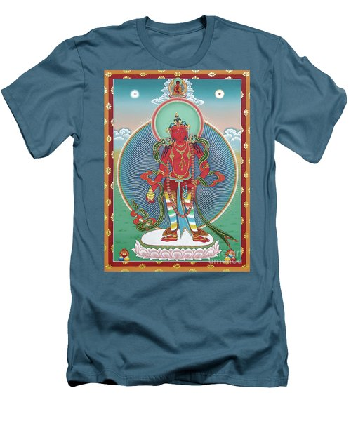 Avalokiteshvara Korwa Tongtrug Men's T-Shirt (Slim Fit) by Sergey Noskov