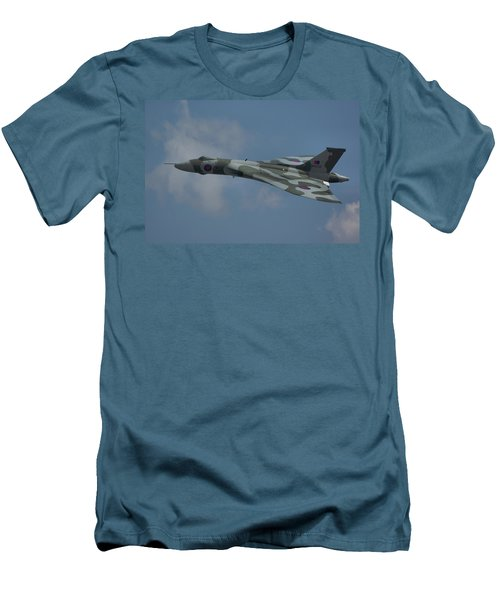 Avro Vulcan B2 Xh558 Men's T-Shirt (Slim Fit) by Tim Beach