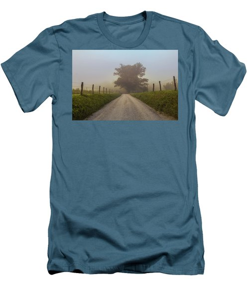 Men's T-Shirt (Slim Fit) featuring the photograph Awaiting The Horizon by Jessica Brawley