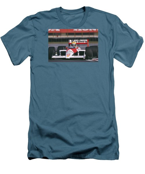 Ayrton Senna. 1988 Mexican Grand Prix Men's T-Shirt (Athletic Fit)