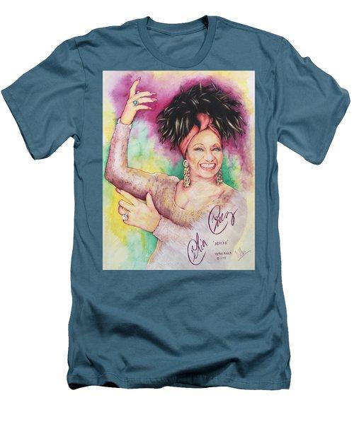 Azucar Celia Cruz Men's T-Shirt (Athletic Fit)