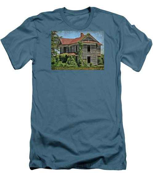 Men's T-Shirt (Slim Fit) featuring the photograph Back To Nature by Victor Montgomery