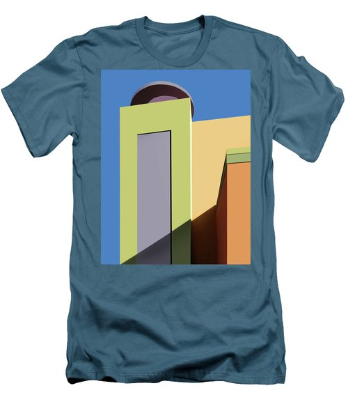 Back To The Market Men's T-Shirt (Slim Fit) by Nikolyn McDonald