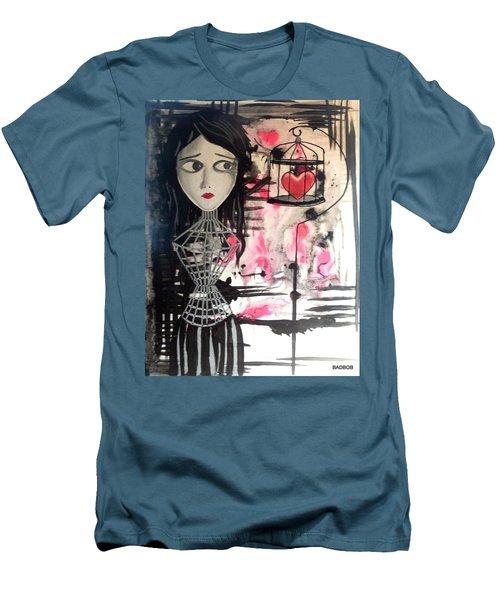 Badheart Men's T-Shirt (Athletic Fit)