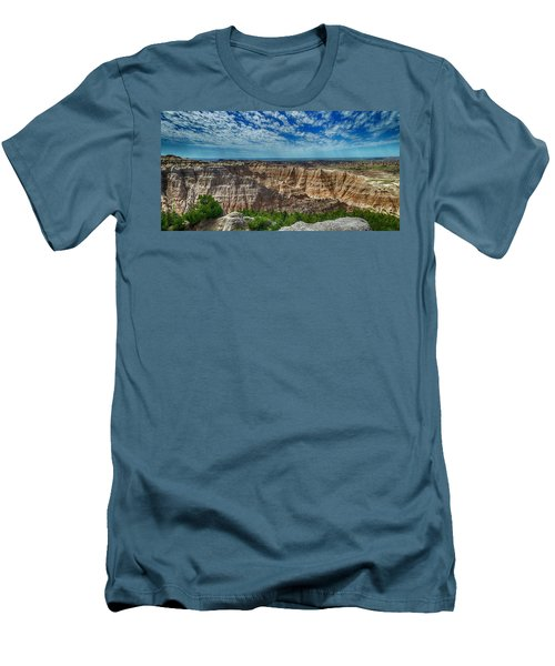 Badlands Landscape Men's T-Shirt (Athletic Fit)