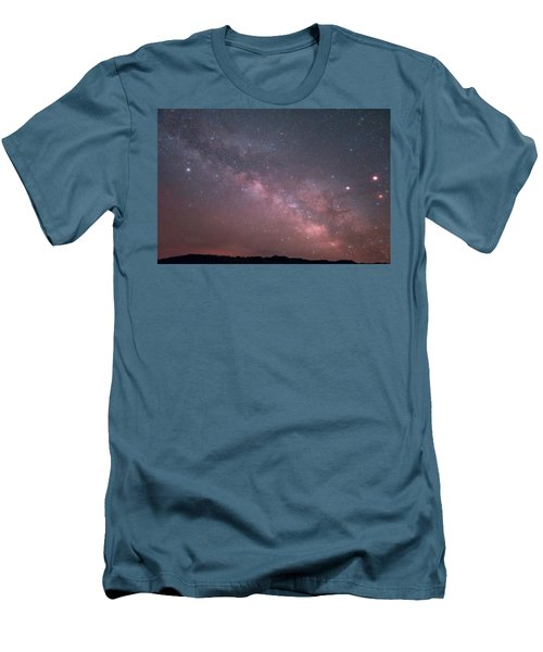 Badlands Milky Way Men's T-Shirt (Athletic Fit)