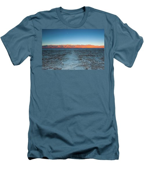Men's T-Shirt (Slim Fit) featuring the photograph Badwater  by Catherine Lau