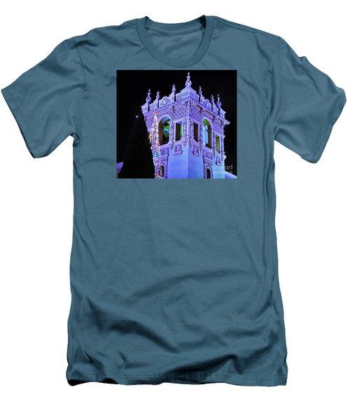 Balboa Park December Nights Celebration Details Men's T-Shirt (Slim Fit) by Jasna Gopic