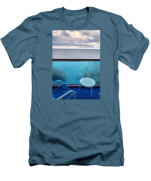Balcony View Men's T-Shirt (Slim Fit) by Lewis Mann