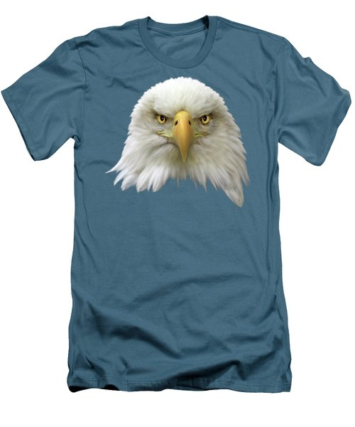 Men's T-Shirt (Slim Fit) featuring the photograph Bald Eagle by Shane Bechler