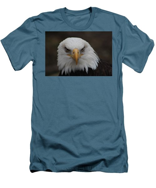 Bald Eagle Stare  Men's T-Shirt (Athletic Fit)