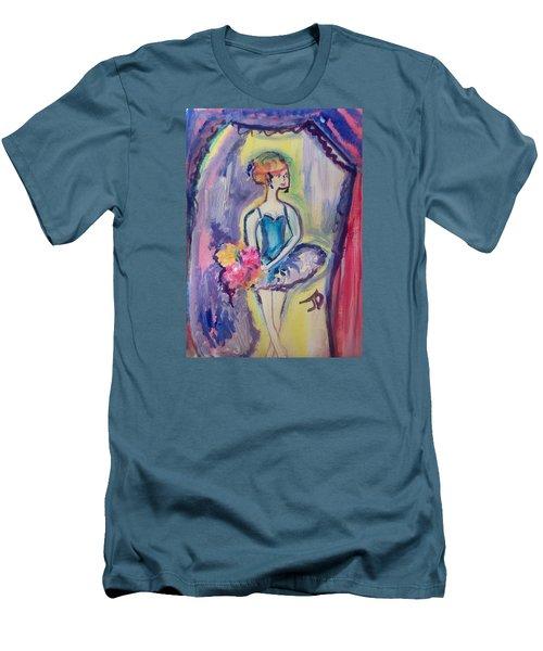 Ballerina Bouquet Men's T-Shirt (Athletic Fit)