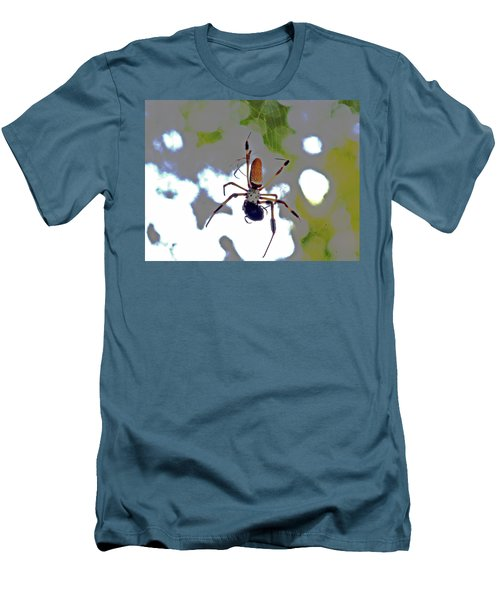 Banana Spider Lunch Time 1 Men's T-Shirt (Athletic Fit)