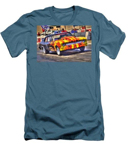 Banana Yellow Men's T-Shirt (Slim Fit) by Richard J Cassato