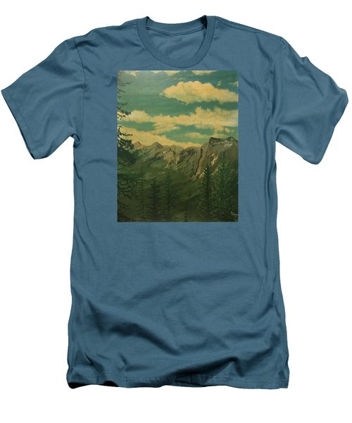 Banff Men's T-Shirt (Slim Fit) by Terry Frederick