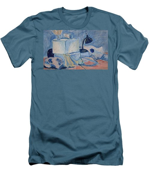 Bare Bones Men's T-Shirt (Slim Fit) by Jean Haynes