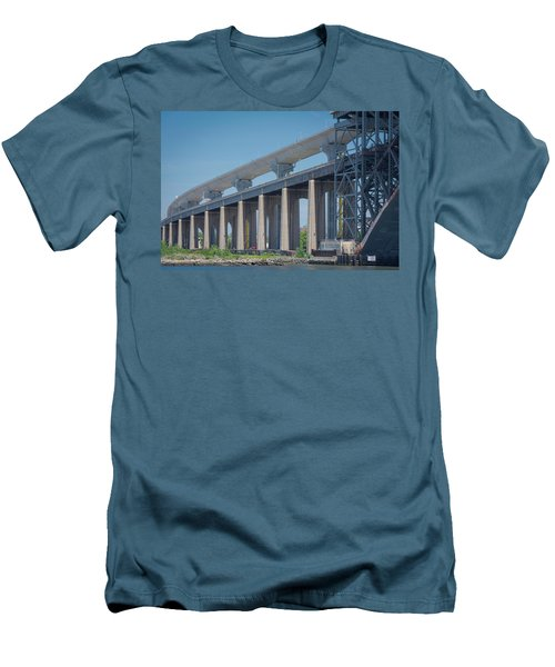 Bayonne Bridge Raising #5 Men's T-Shirt (Athletic Fit)