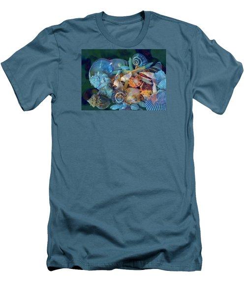 Beach Beauty 7 Men's T-Shirt (Slim Fit) by Lynda Lehmann