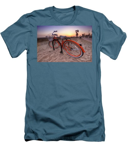 Beach Bike Men's T-Shirt (Athletic Fit)