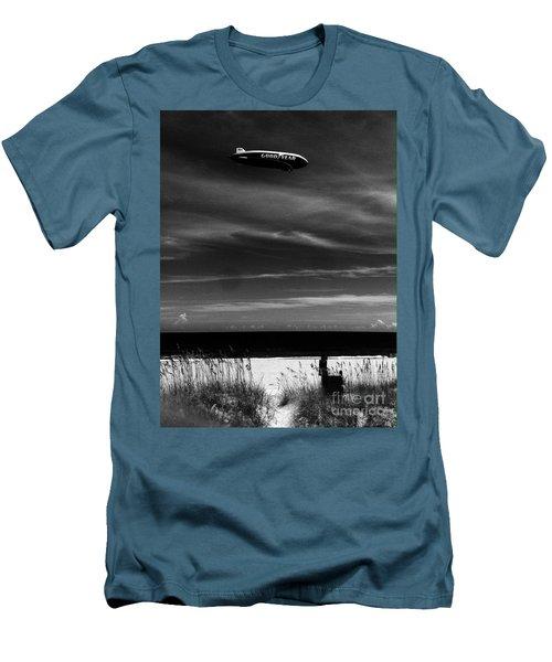 Beach Blimp Men's T-Shirt (Athletic Fit)