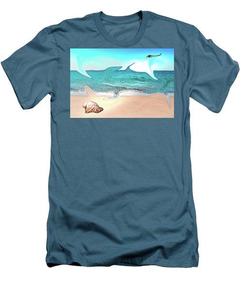 Beach Dream Men's T-Shirt (Athletic Fit)
