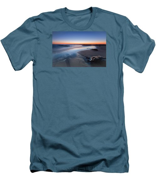 Beach View 2 Men's T-Shirt (Slim Fit) by Catherine Lau
