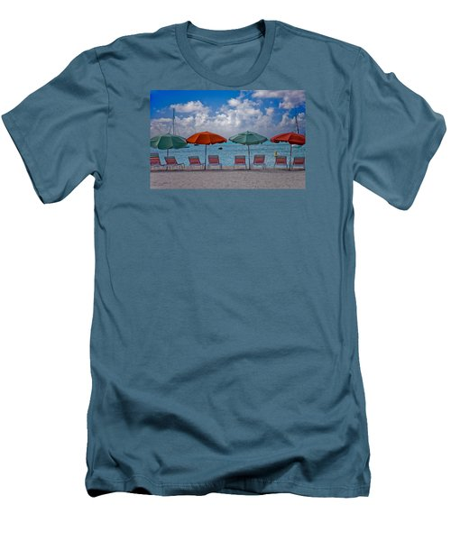 Beachie Keen Men's T-Shirt (Slim Fit) by Matthew Bamberg