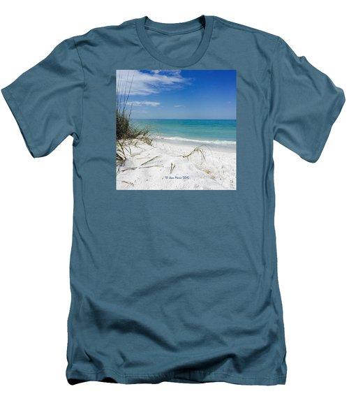Bean Point, Anna Maria Island Men's T-Shirt (Slim Fit)
