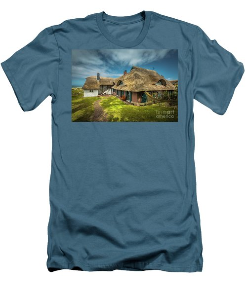 Beautiful Cottage Men's T-Shirt (Slim Fit) by Eva Lechner