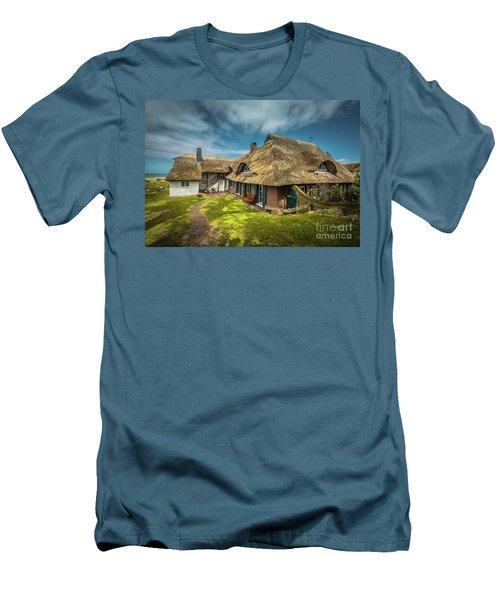 Beautiful Cottage Men's T-Shirt (Athletic Fit)