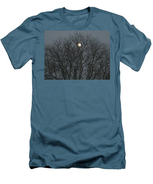 Beautiful Moon Men's T-Shirt (Athletic Fit)