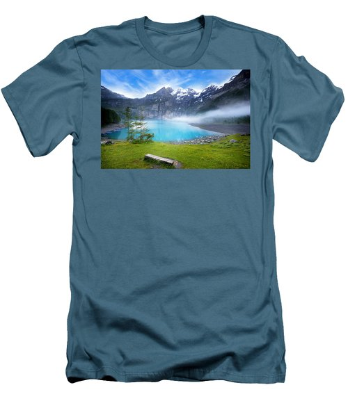 Beautiful Switzerland Men's T-Shirt (Athletic Fit)