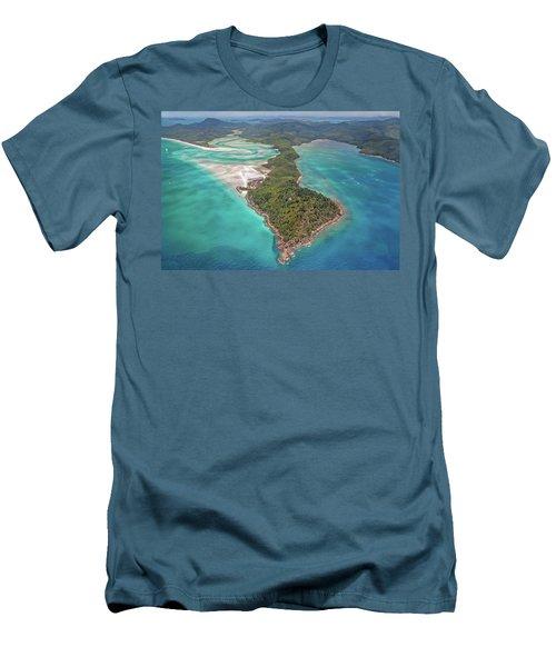 Men's T-Shirt (Slim Fit) featuring the photograph Beautiful Whitsundays by Az Jackson