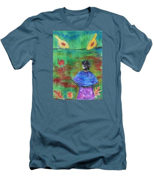 Beauty Above Men's T-Shirt (Athletic Fit)