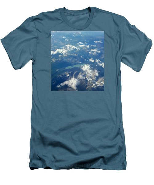 Beauty From The Skies Men's T-Shirt (Athletic Fit)