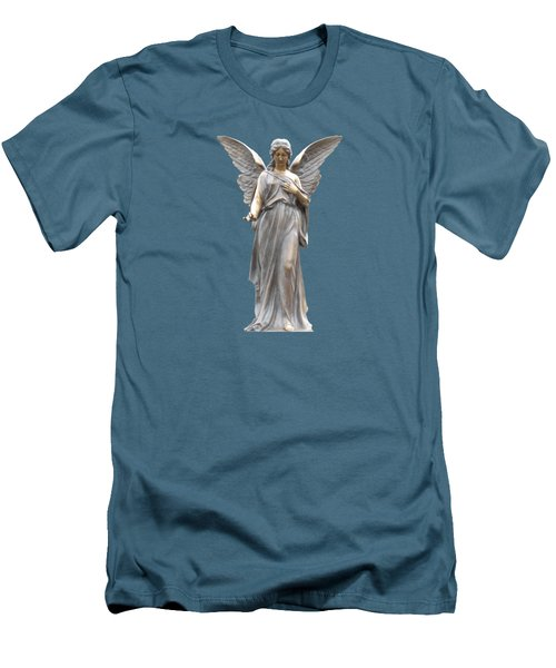 Behold I Send An Angel Before Thee I I Men's T-Shirt (Slim Fit) by David Dehner