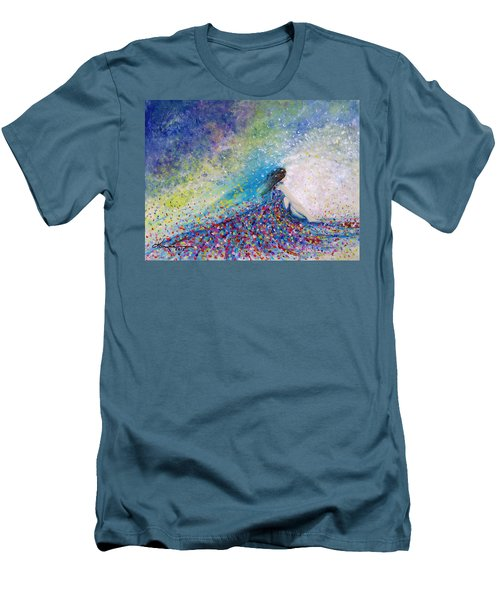 Being A Woman - #5 In A Daydream Men's T-Shirt (Athletic Fit)