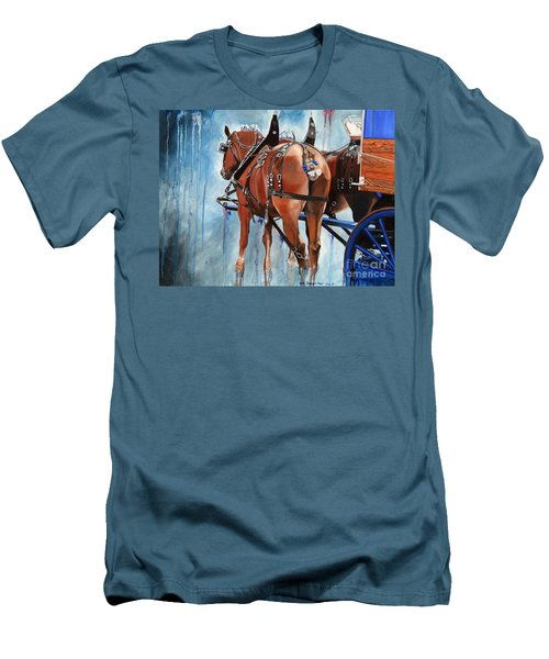 Belgian Blues Men's T-Shirt (Athletic Fit)
