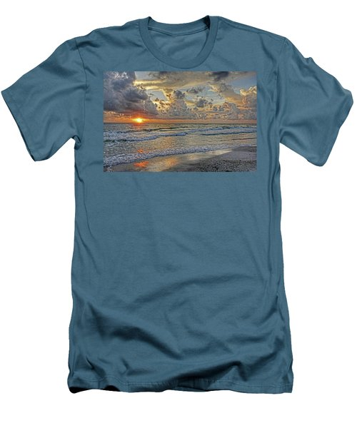 Beloved - Florida Sunset Men's T-Shirt (Athletic Fit)