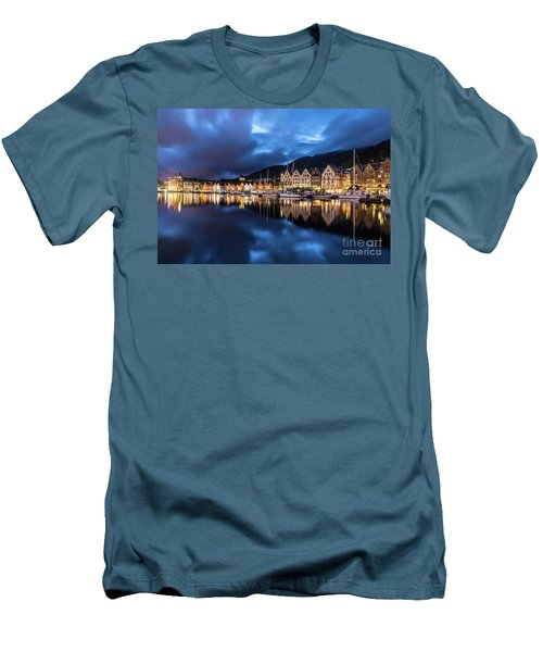 Bergen Harbor Men's T-Shirt (Athletic Fit)