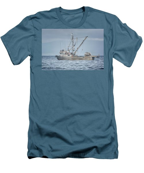 Men's T-Shirt (Slim Fit) featuring the photograph Bernice C by Randy Hall