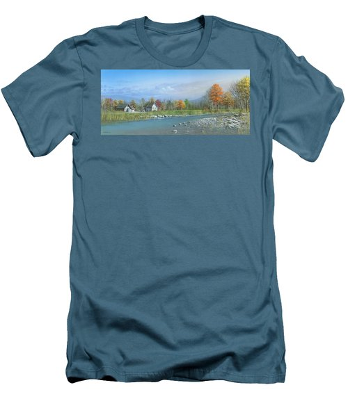 Better Days Men's T-Shirt (Slim Fit) by Mike Brown
