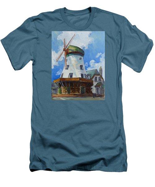 Bevo Mill - St. Louis Men's T-Shirt (Slim Fit) by Irek Szelag