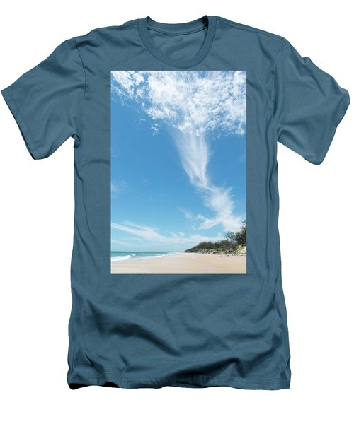 Big Sky Beach Men's T-Shirt (Athletic Fit)